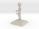 BRUCE character from Bruce Videogame in Sandstone