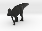 Edmontosaurus Dinosaur Small SOLID in Black Strong & Flexible