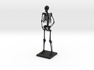 "10"" Desktop Skeleton in Black Strong & Flexible"