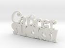 Cancer Sucks in White Strong & Flexible