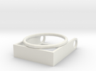 Scrabble Pendant: Reversible in White Strong & Flexible