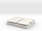 Sun Shield for Digicam Screen in White Strong & Flexible