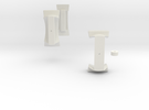 Master Pentagonal Floppy Prism CENTER MISC (PRINT  in White Strong & Flexible
