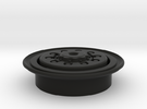 Rim for military truck tire (front wheels) in Black Strong & Flexible