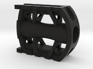 Bicycle Pedal 1/2 scale in Black Strong & Flexible
