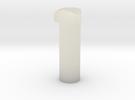Jedi Comlink Prop Replica Triangular Head Bolt in Transparent Acrylic