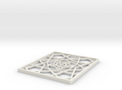 Girih Tile1 in White Strong & Flexible