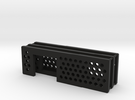 arduino enclosure ends: main, ethernet, db9 in Black Strong & Flexible