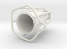 CF Vase in White Strong & Flexible
