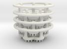 LED-holders for PET bottles (larger) in White Strong & Flexible