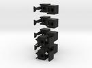 Minimis 1x2x5 in Black Strong & Flexible