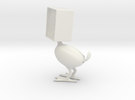 Speaker Bird in White Strong & Flexible