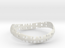 Bracelet Torus in White Strong & Flexible