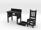 desk set in Black Strong & Flexible