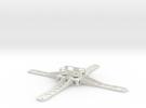 24g Quad Frame in White Strong & Flexible