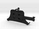 Car mounting plate for iphone 4 with case in Black Strong & Flexible