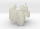 Maximum hunchback in Transparent Acrylic