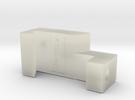 Xo - Chuck splicer R in Transparent Acrylic