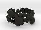 bubble ring in Black Strong & Flexible