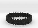 Trefoil Bangle in Black Strong & Flexible