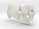 V3 Neo Chestplate Set in White Strong & Flexible