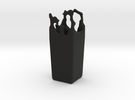 Splash Vase in Black Strong & Flexible