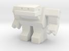 Robot 0034 Jaw Bot v5 in White Strong & Flexible