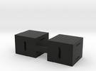 Battery_holder in Black Strong & Flexible