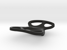 Mojo paperclip in Black Strong & Flexible