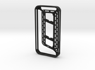 iphone4 bumper - cord winding system in Black Strong & Flexible