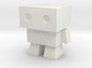 Robot 0045 Basic Robot Fast Forward Bot in White Strong & Flexible