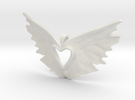 variation on the heart takes flight in White Strong & Flexible