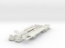 Plan U n-schaal (1:160) bodems zonder stoelen in White Strong & Flexible