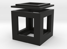 cubo in Black Strong & Flexible