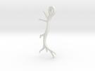 Antler Pendant Flat in White Strong & Flexible