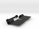 Locking Hinge in Black Strong & Flexible