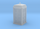 Police Signal (telephone) Box - OO (1:76) scale in Frosted Ultra Detail