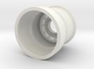 Portal Gun - Barrel in White Strong & Flexible