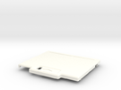 TED V1 Super Low Profile Shell in White Strong & Flexible Polished
