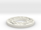 Sanwa JLW series octagonal restrictor plate in White Strong & Flexible