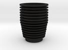 Veron Cylinder Replica in Black Acrylic