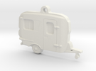 Burro Camper Pendant in White Strong & Flexible