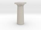 Parthenon Column Top 1:100 in Sandstone