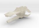 Xandar Lancer Frigate in White Acrylic