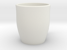 Open Mug in White Strong & Flexible