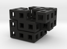 Cube Puzzle in Black Strong & Flexible
