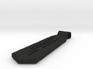 Tie in Black Acrylic