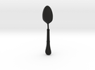 Gothic Spoon in Black Strong & Flexible