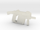 Super V SMG w Stock in Transparent Acrylic