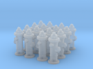 Hydrant type : A 1:72 16 Pcs in Frosted Ultra Detail